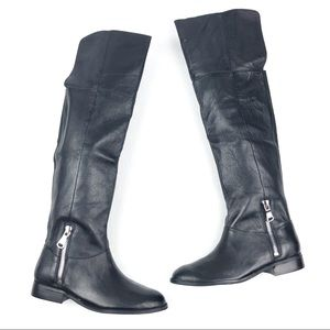 CHINESE LAUNDRY Fawn Riding boots 7.5 black OTK